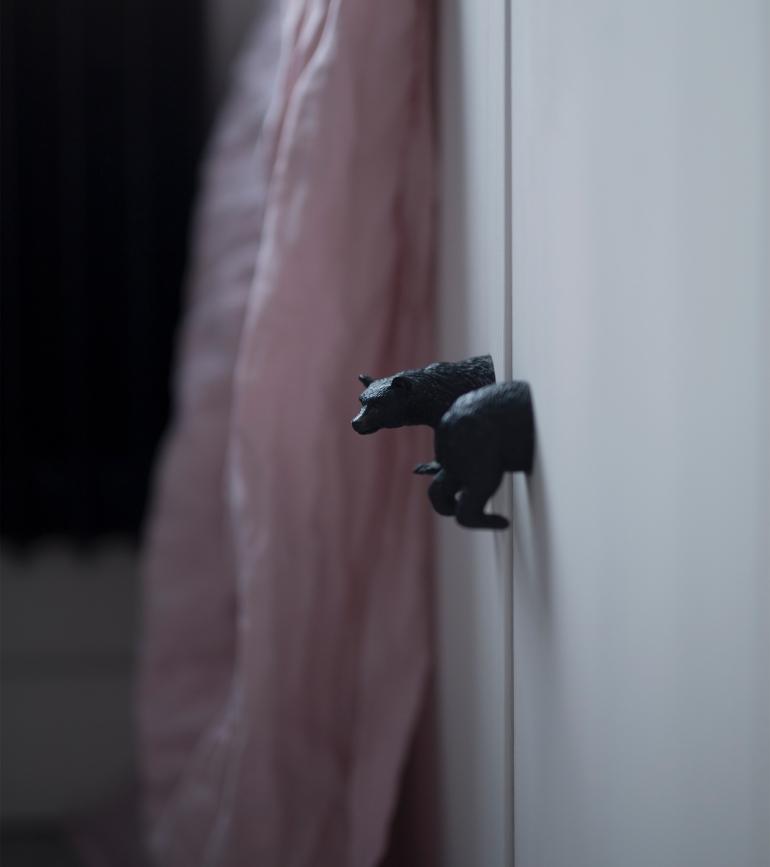 Ikeahack säng detail